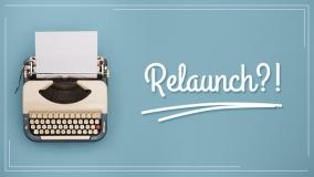 Relaunch: Der erste Blogbeitrag